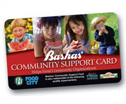 Bashas community support card image
